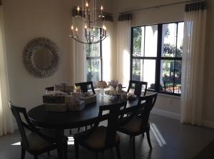 Briones dining room