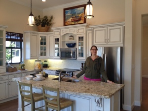 My mom loves this kitchen in the Bristol!